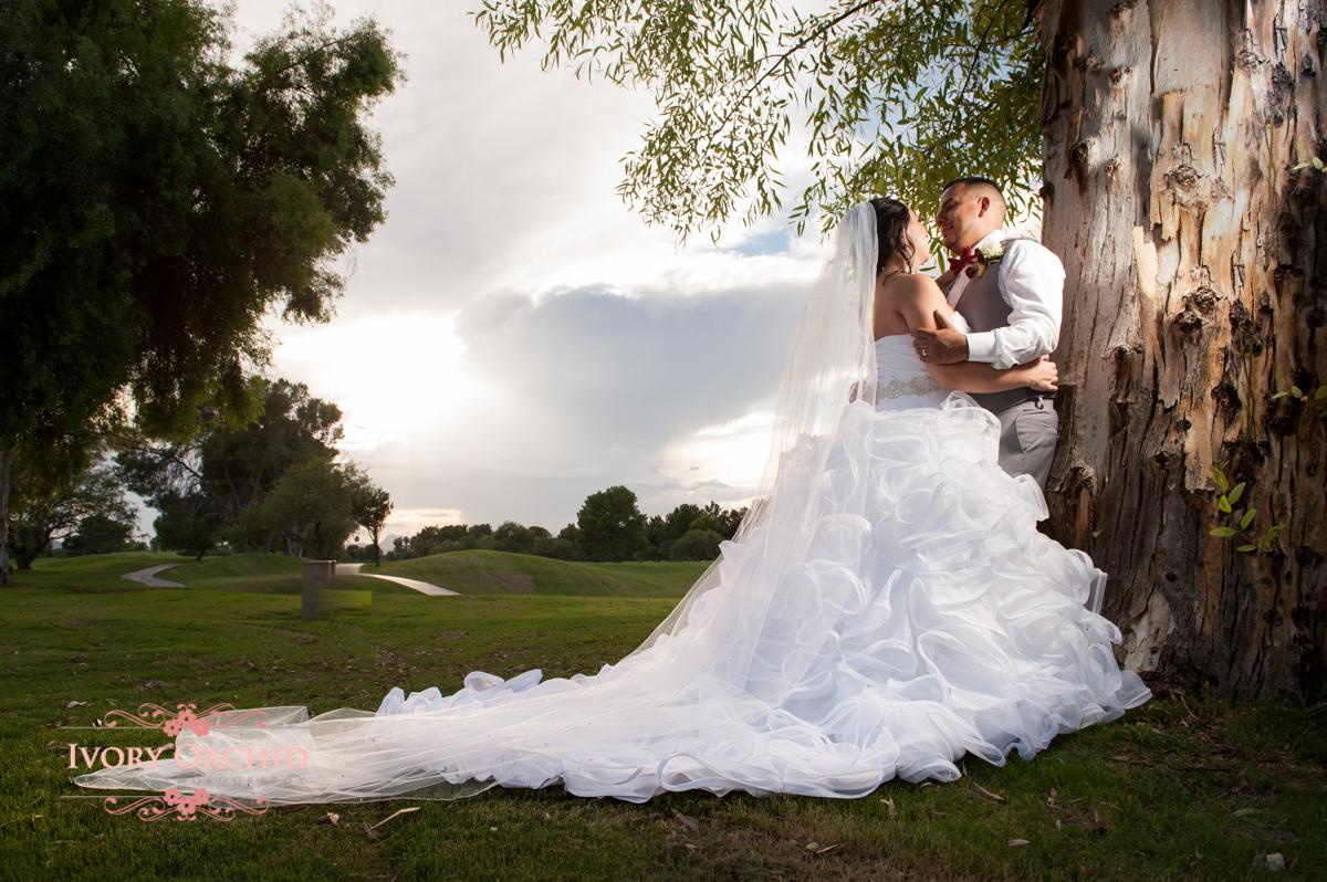 Evening Wedding at Randolph Golf Course