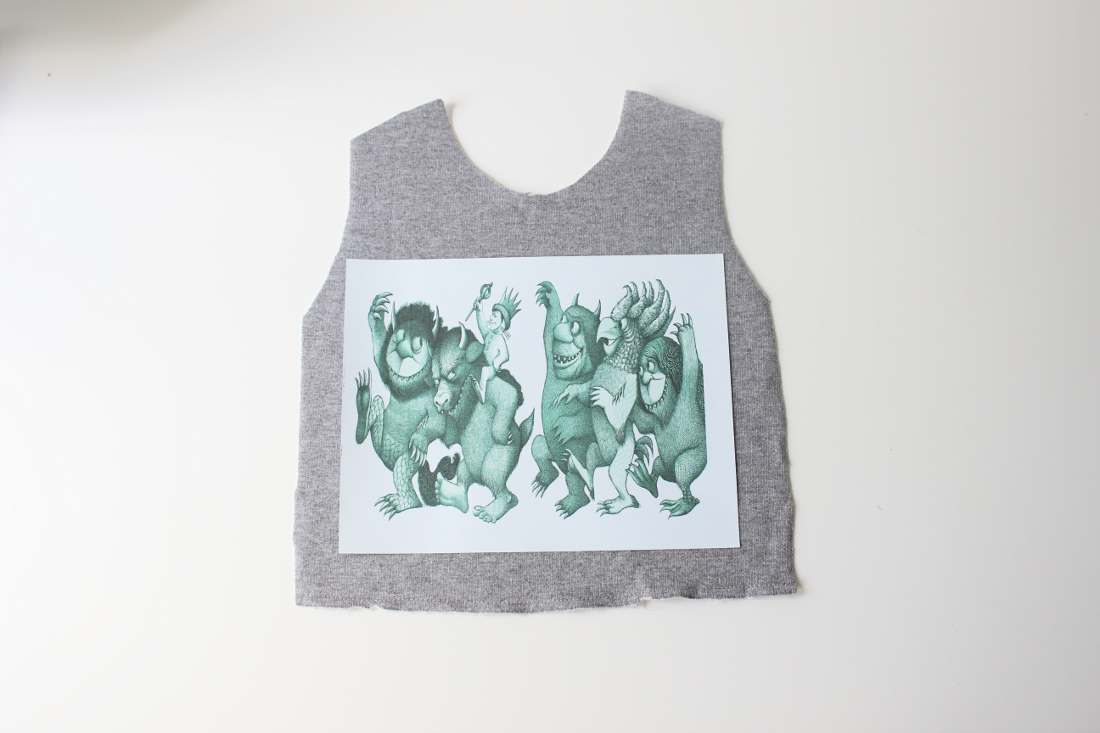 Find or Create a digital image. Print onto transfer paper. Press to garment.