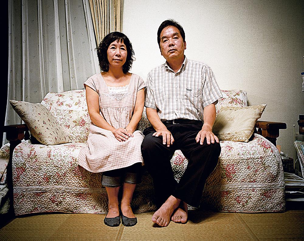 Mayumi Kihara et son mari – Hiroshima