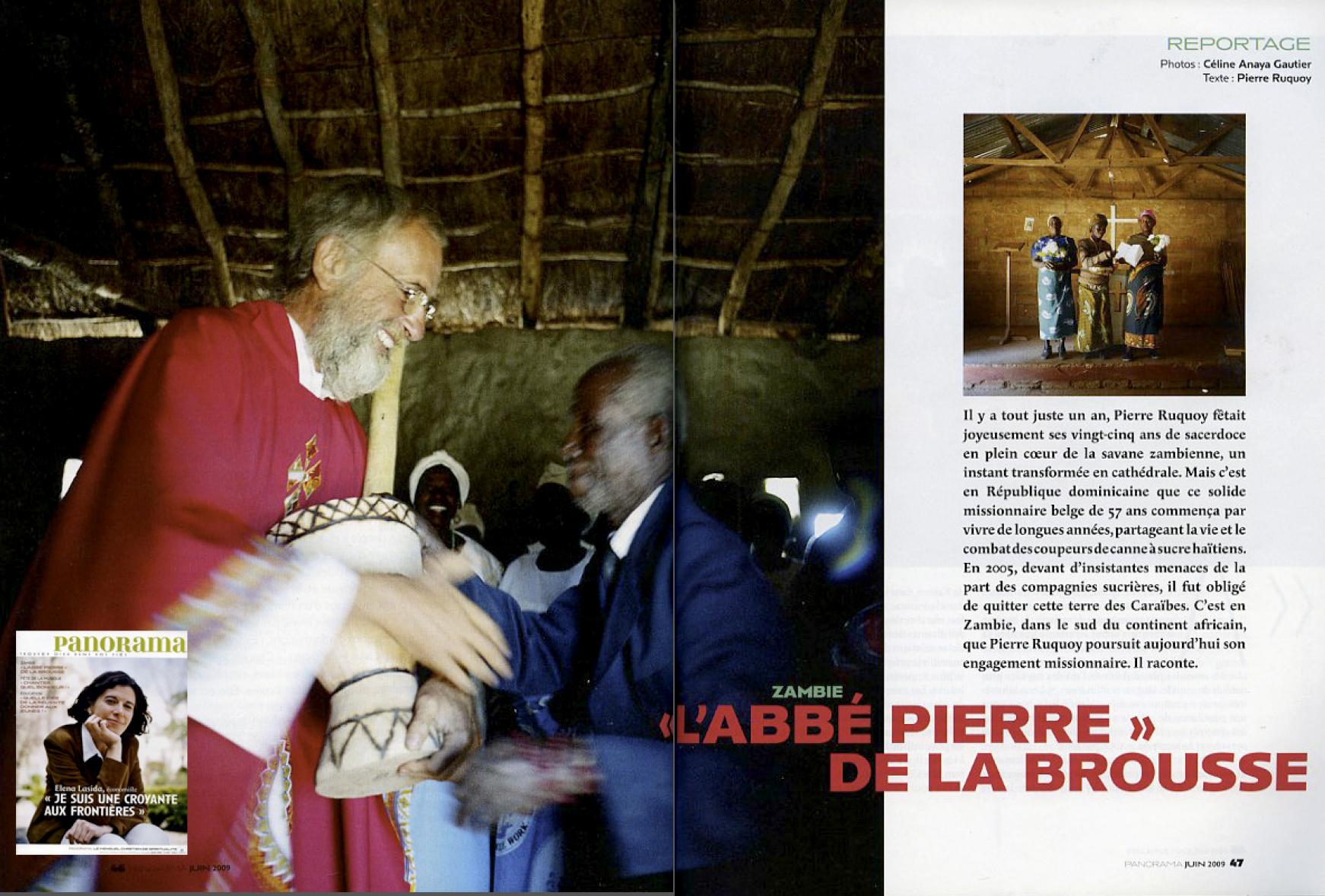 L'Abbé Pierre de la brouse