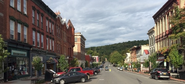 Cooperstown's Main Street, photo by Peter Rutkoff