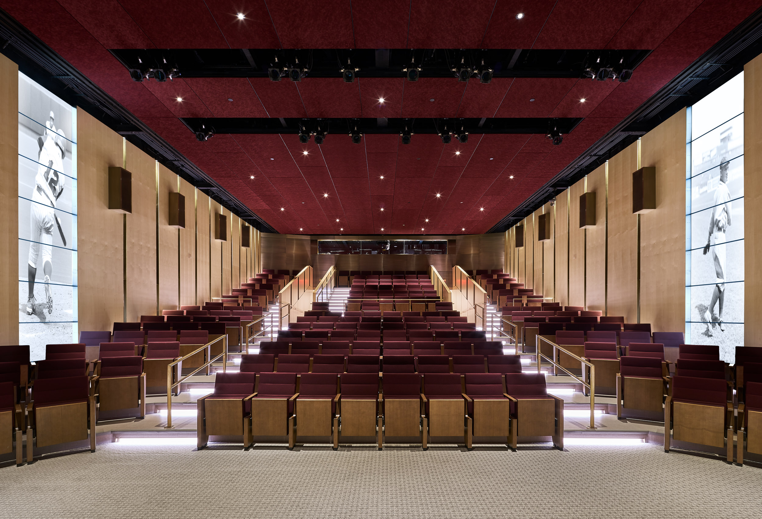 The Grandstand Theater at the National Baseball Hall of Fame will host several Film Days screenings. (Courtesy Populous)