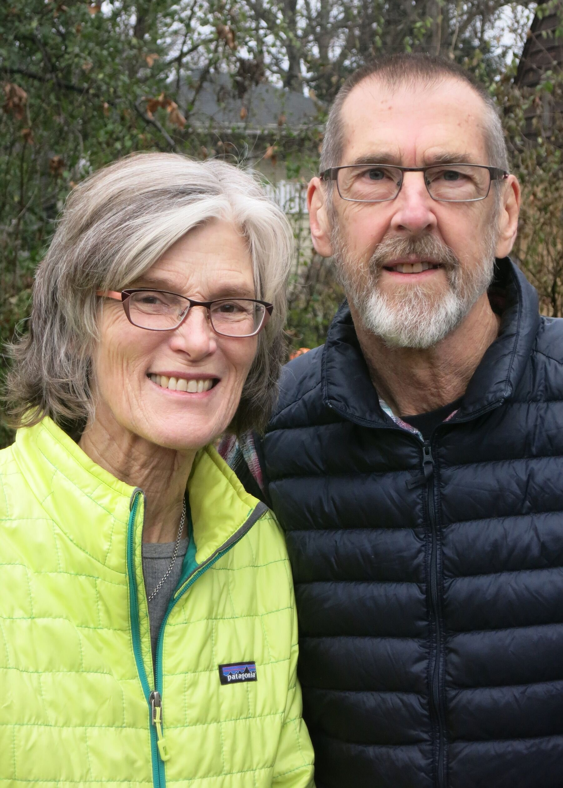 Kristine Samuelson and John Haptas
