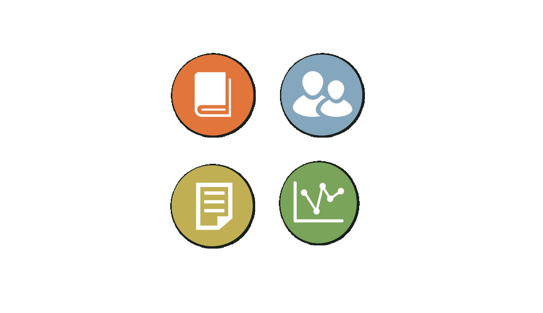 Nonprofit Branding Icon System