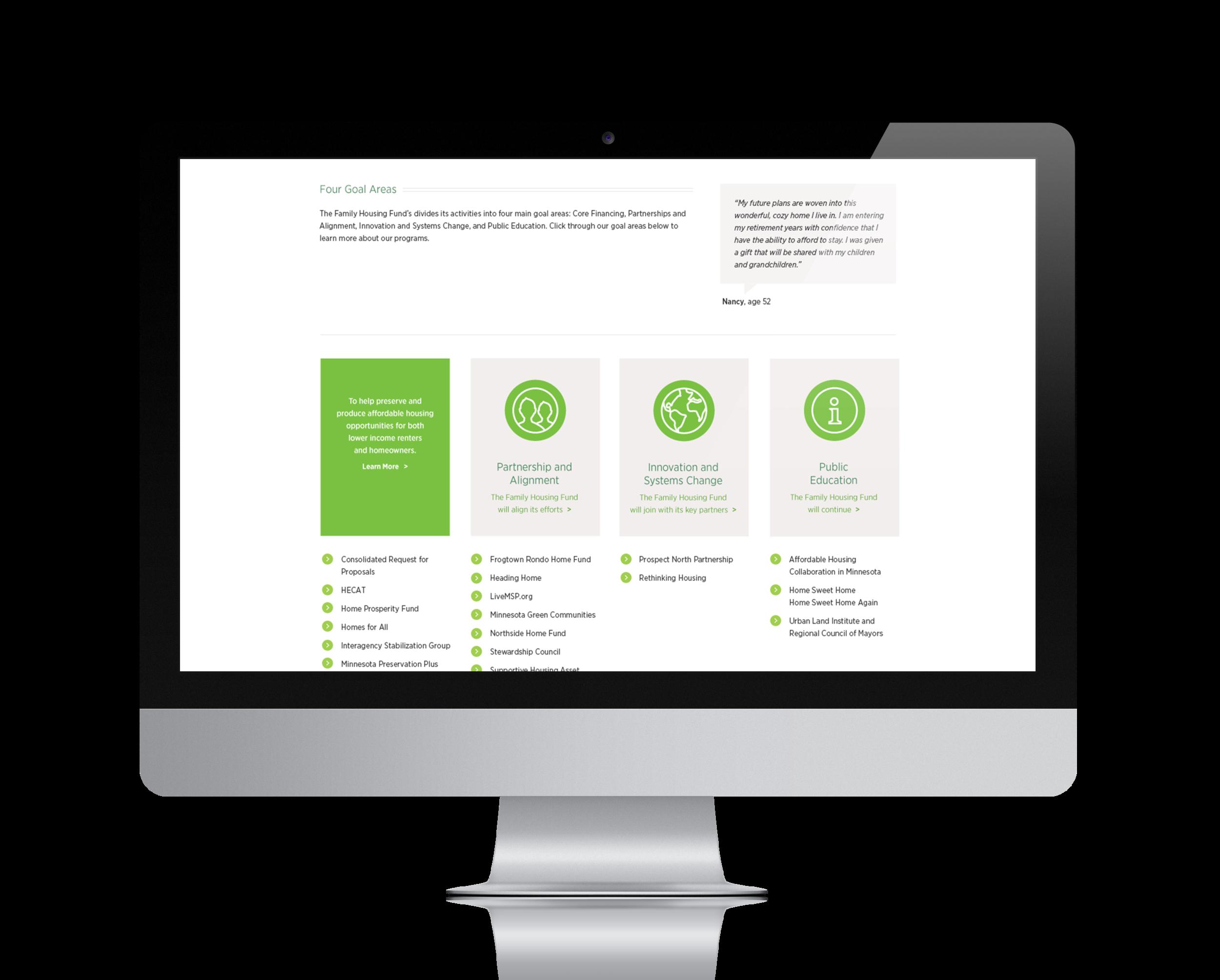 Nonprofit Website