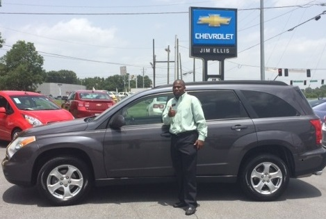 Jim Ellis Chevrolet used car sales was instrumental in us being able to purchase this car and get it shipped to Ghana!