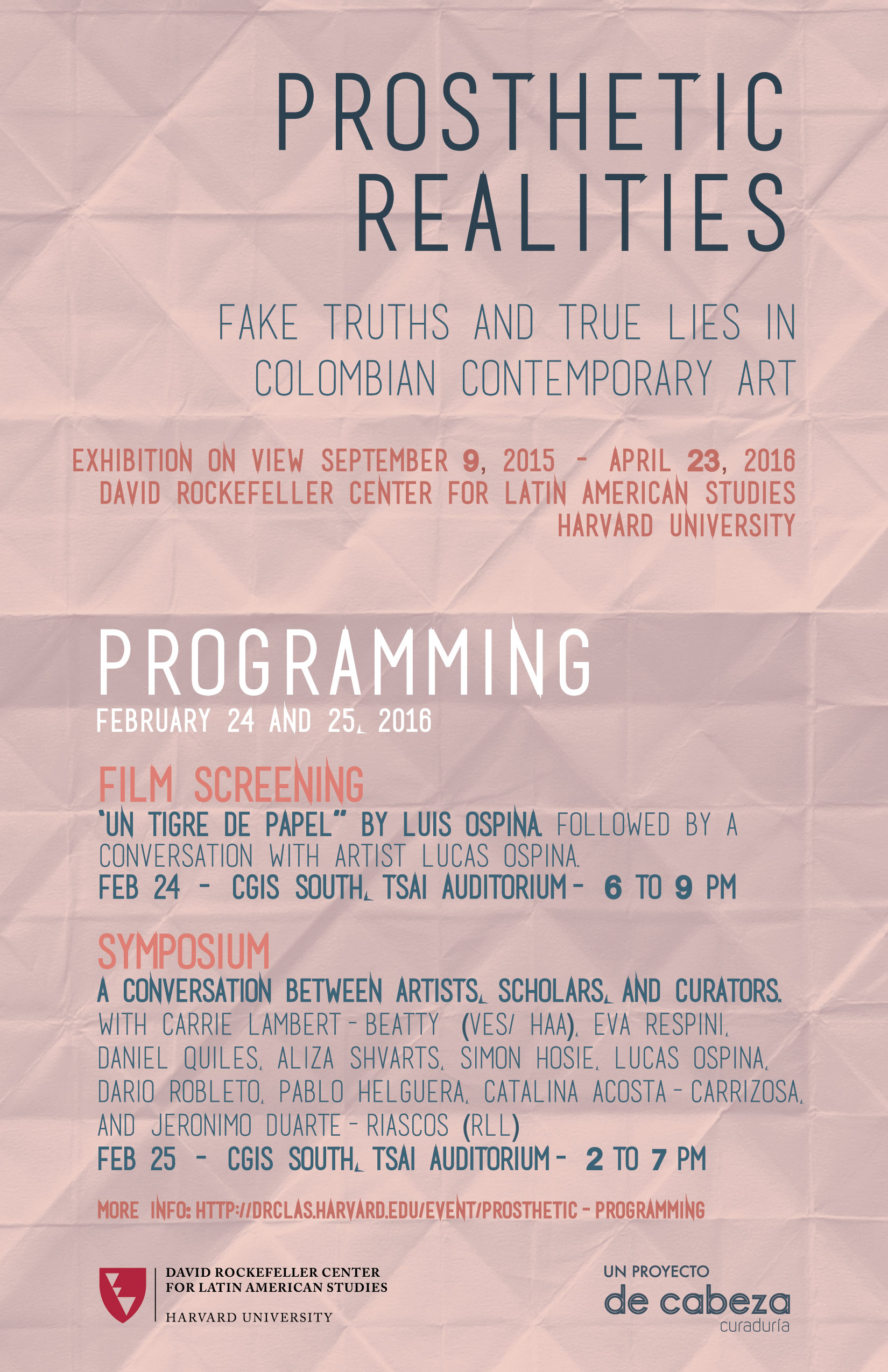 Programming poster