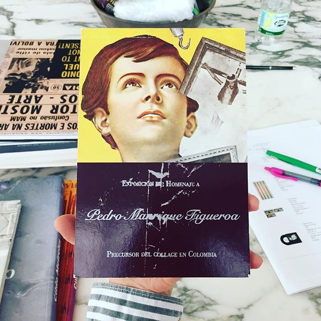 Pedro Manrique Figueroa, precursor del collage en Colombia
