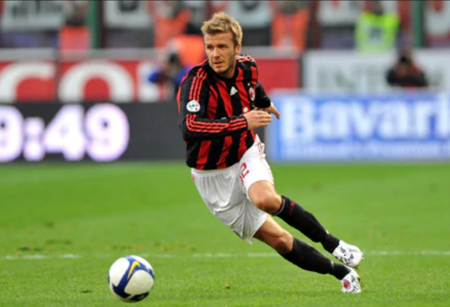 Huge Soccer Fan - I started playing when I was 9 years old, and still enjoy an ol' kickeroo once in a while. To appease my Italian husband, I've recently become a fan of A.C. Milan.