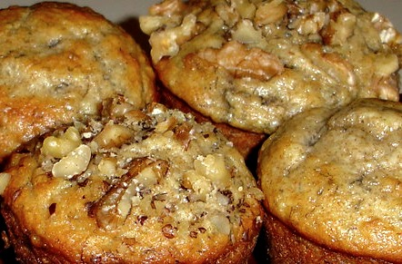 Homemade Banana Buttermilk Muffins at The White Rabbit Inn