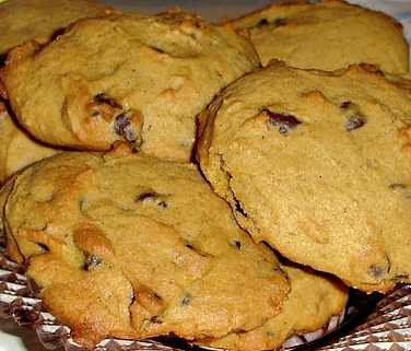Homemade Pumpkin Chocolate Chip Cookies at The White Rabbit Inn