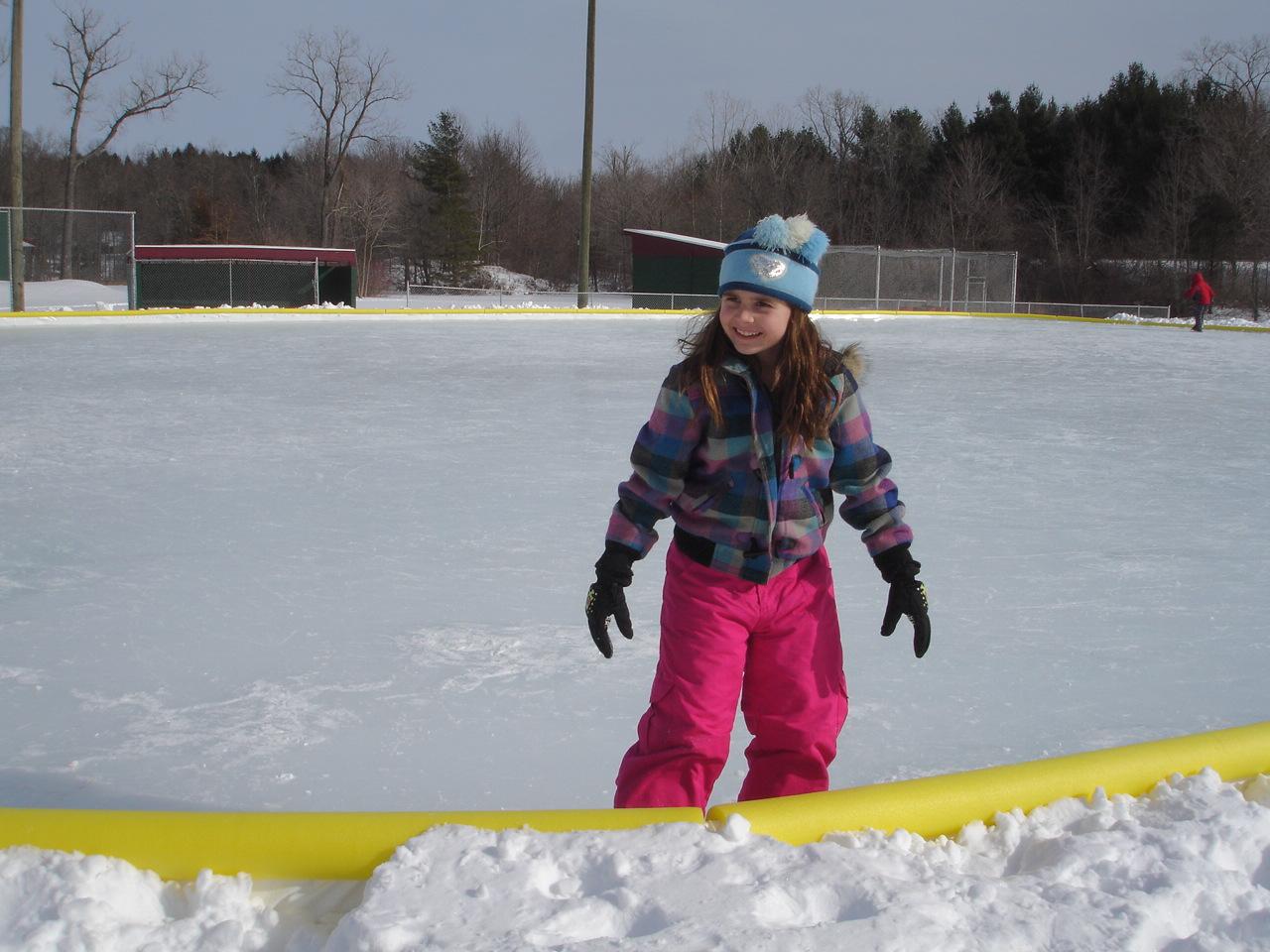 Ice Skating in Chikaming Township Park