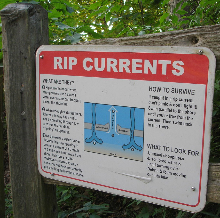 Rip Current Safety Harbert, MI