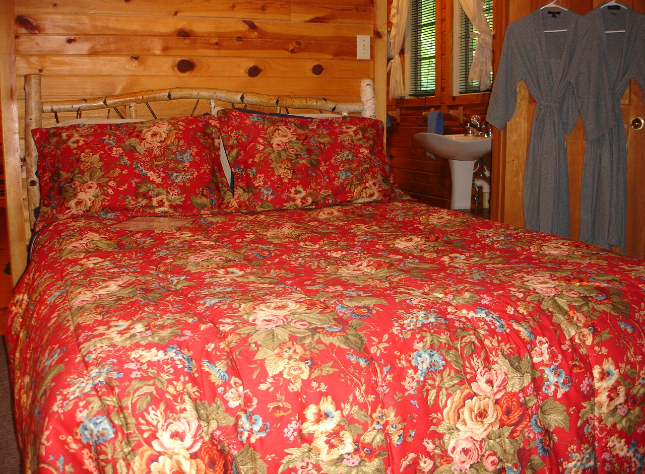 Bedroom in Bill's Cabin