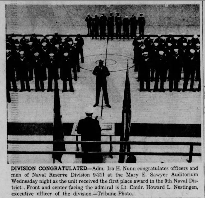 The La Crosse Tribune. Thursday, November 9, 1961. Page 1.