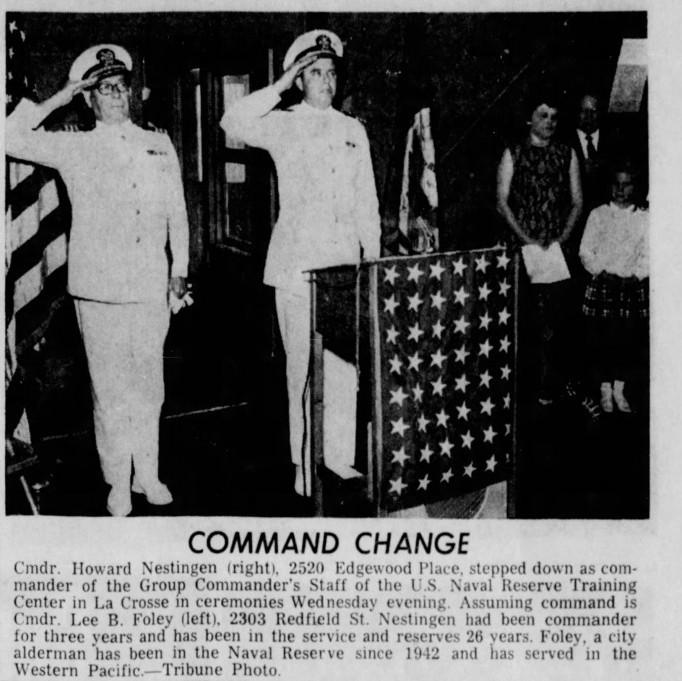 The La Crosse Tribune. Thursday, June 26, 1969. Page 16.