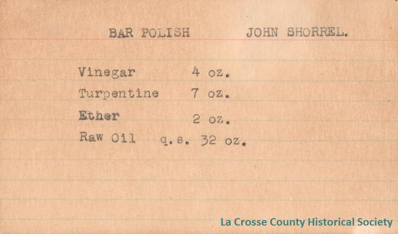 Bar Polish John Shorrel