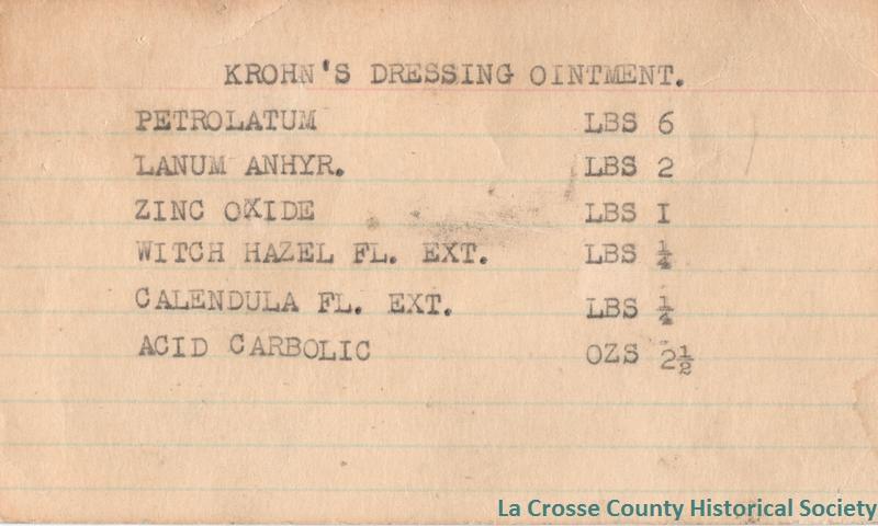 Krohn's Dressing Ointment