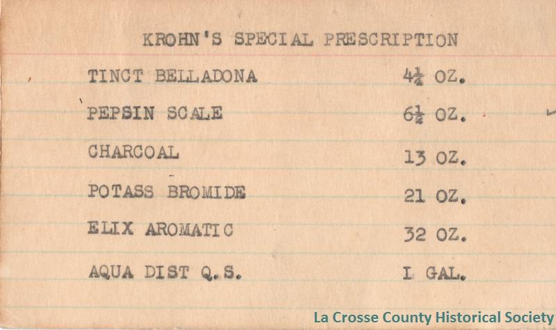 Krohn's Special Prescription