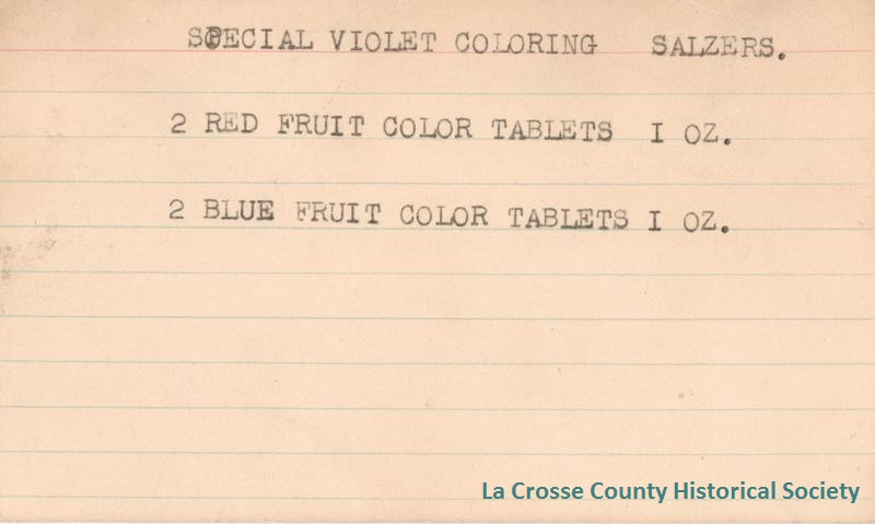 Special Violet Coloring Salzers