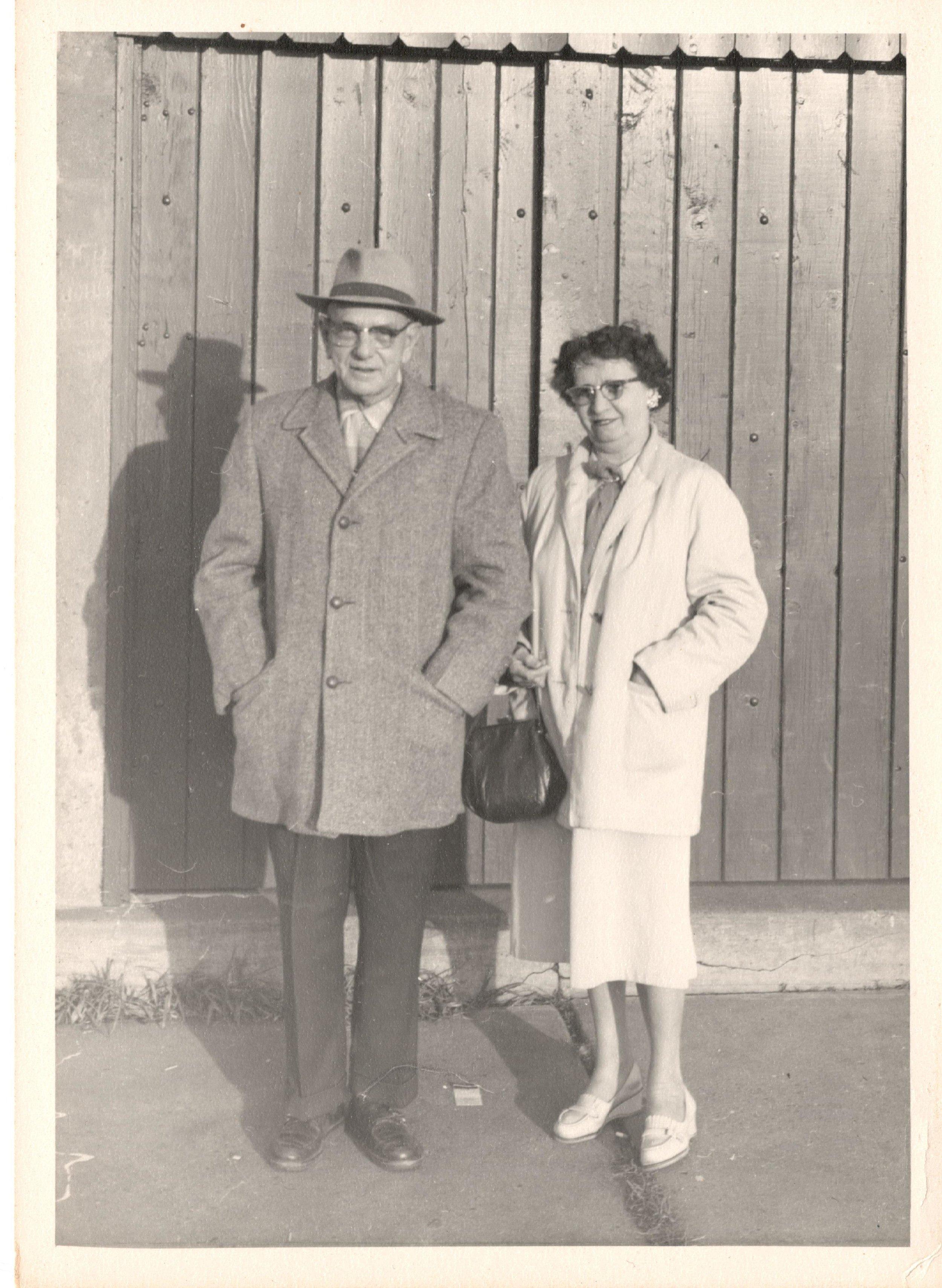 Richard Thornton and his wife Elizabeth