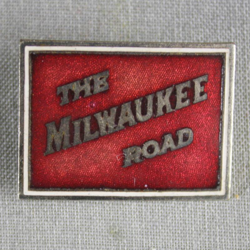 Milwaukee Railroad Pin.