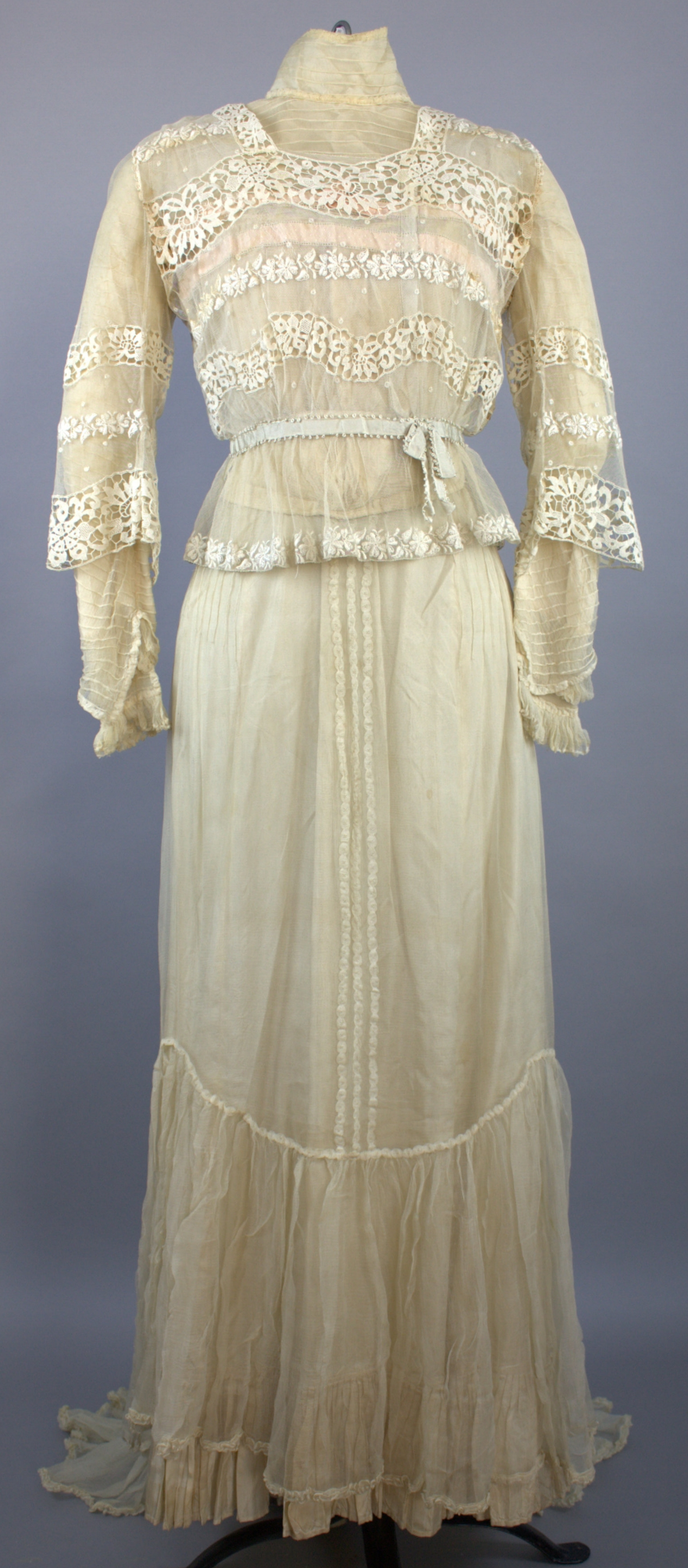 Wedding Dress of Ida (Heileman) Langenbach