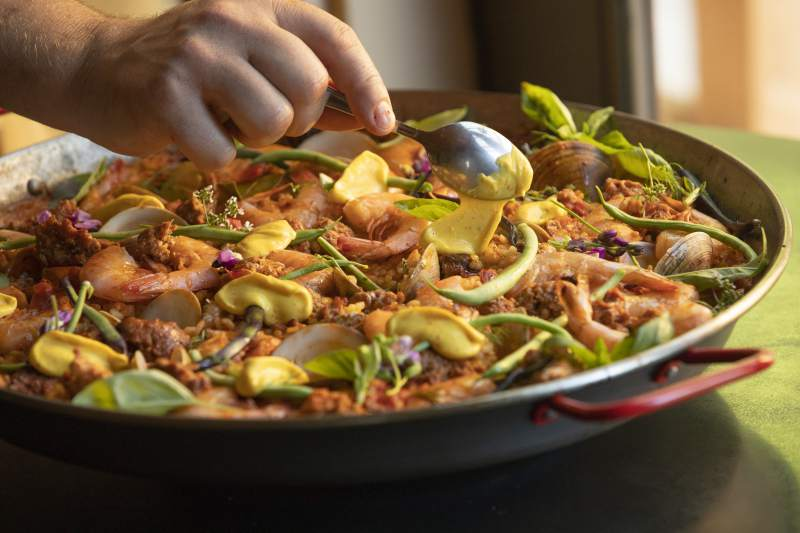 The Press Democrat - Boonville Hotel's new chef shares the secret to perfect paella