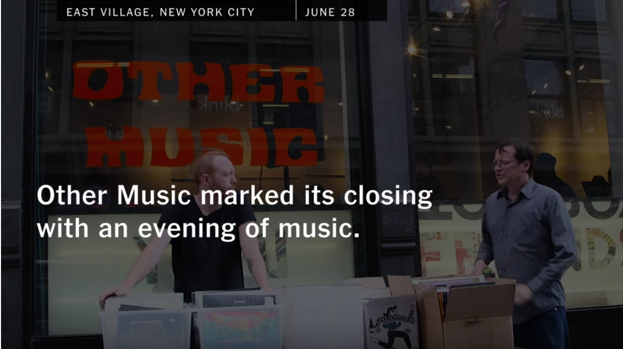 New York Times: A Farewell to Other Music