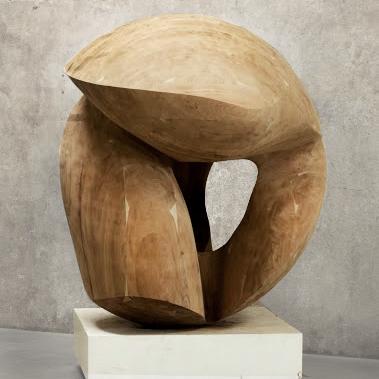 "Venus | 2015 |Wood |63"" diameter"