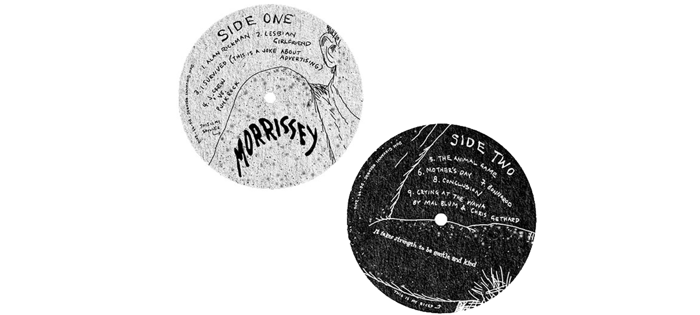 Vinyl labels   My Comedy Album