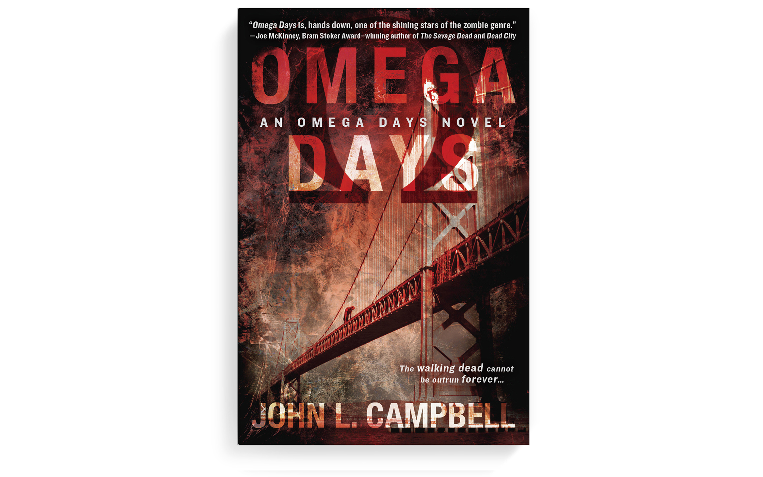 Watch out San Francisco—there's a zombie on your bridge.  Cover design + photo-illustration. Berkley. 2013.