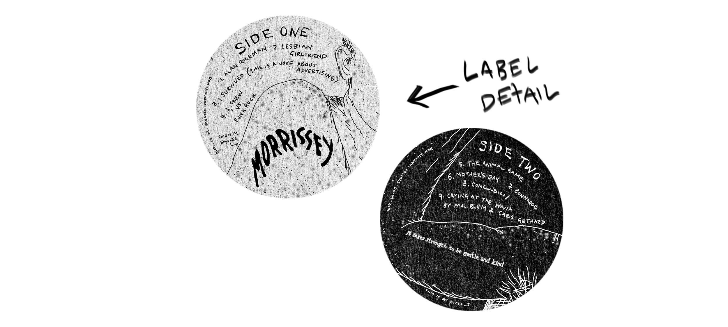 My Comedy Album | Vinyl labels