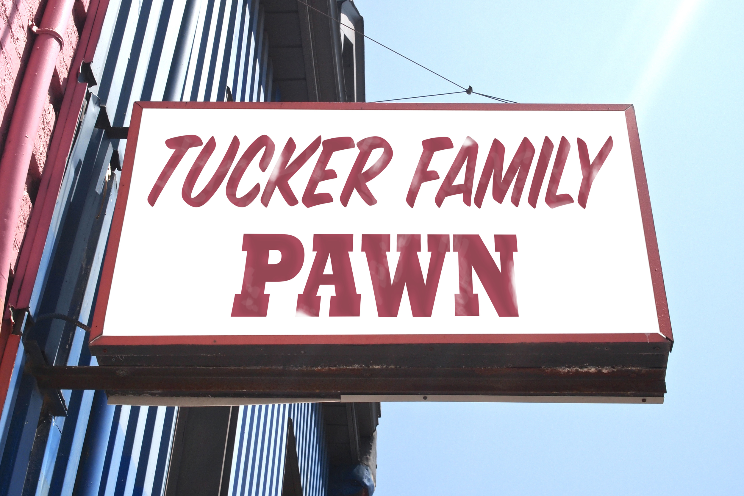 Tucker Family Pawn | TV pilot