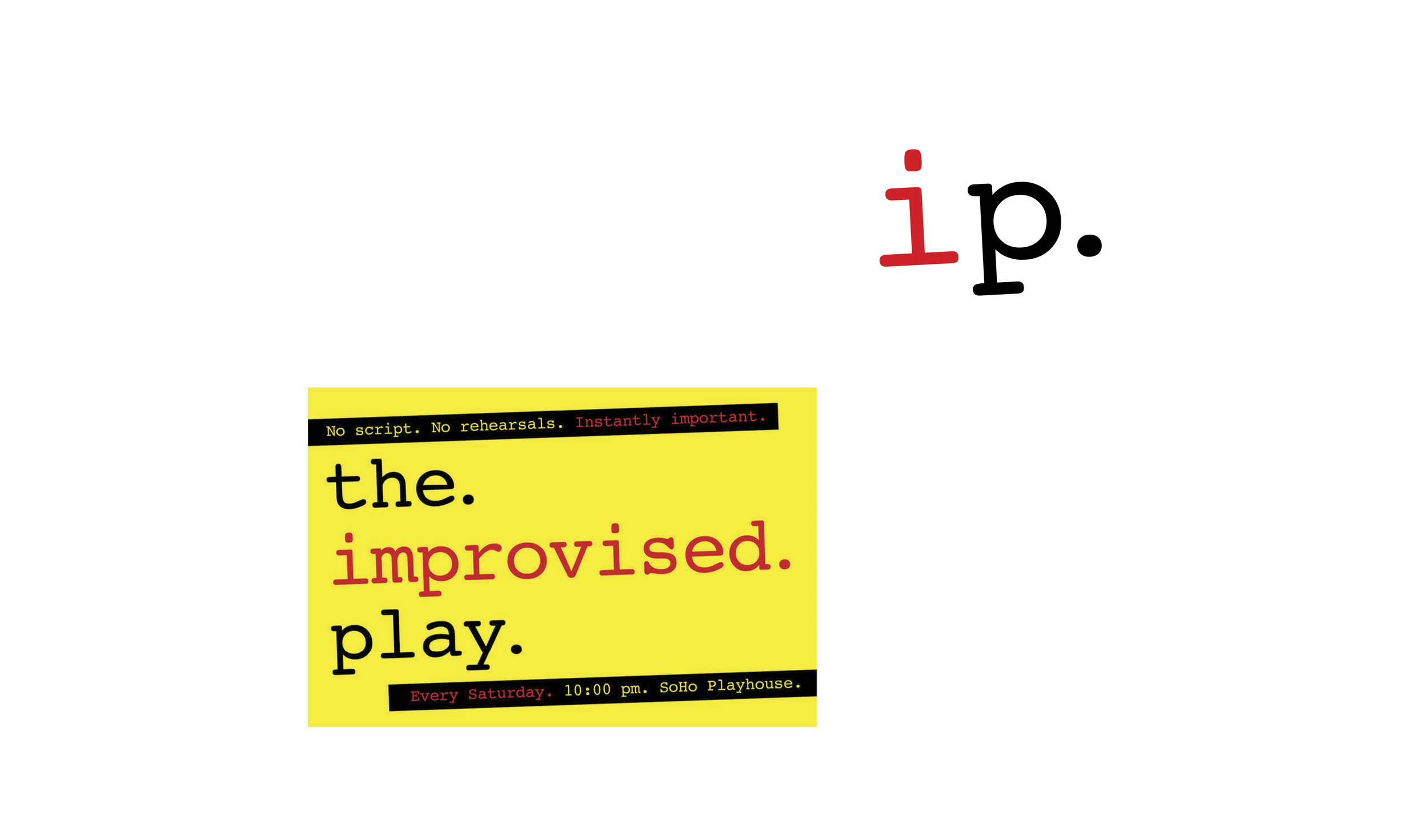 The Improvised Play | Stage show