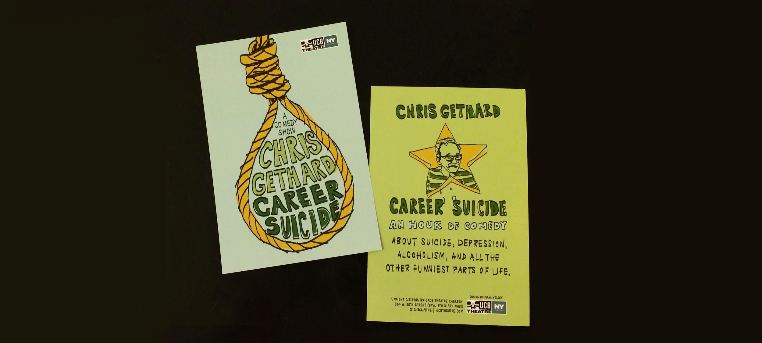 Career Suicide     A Comedy Show