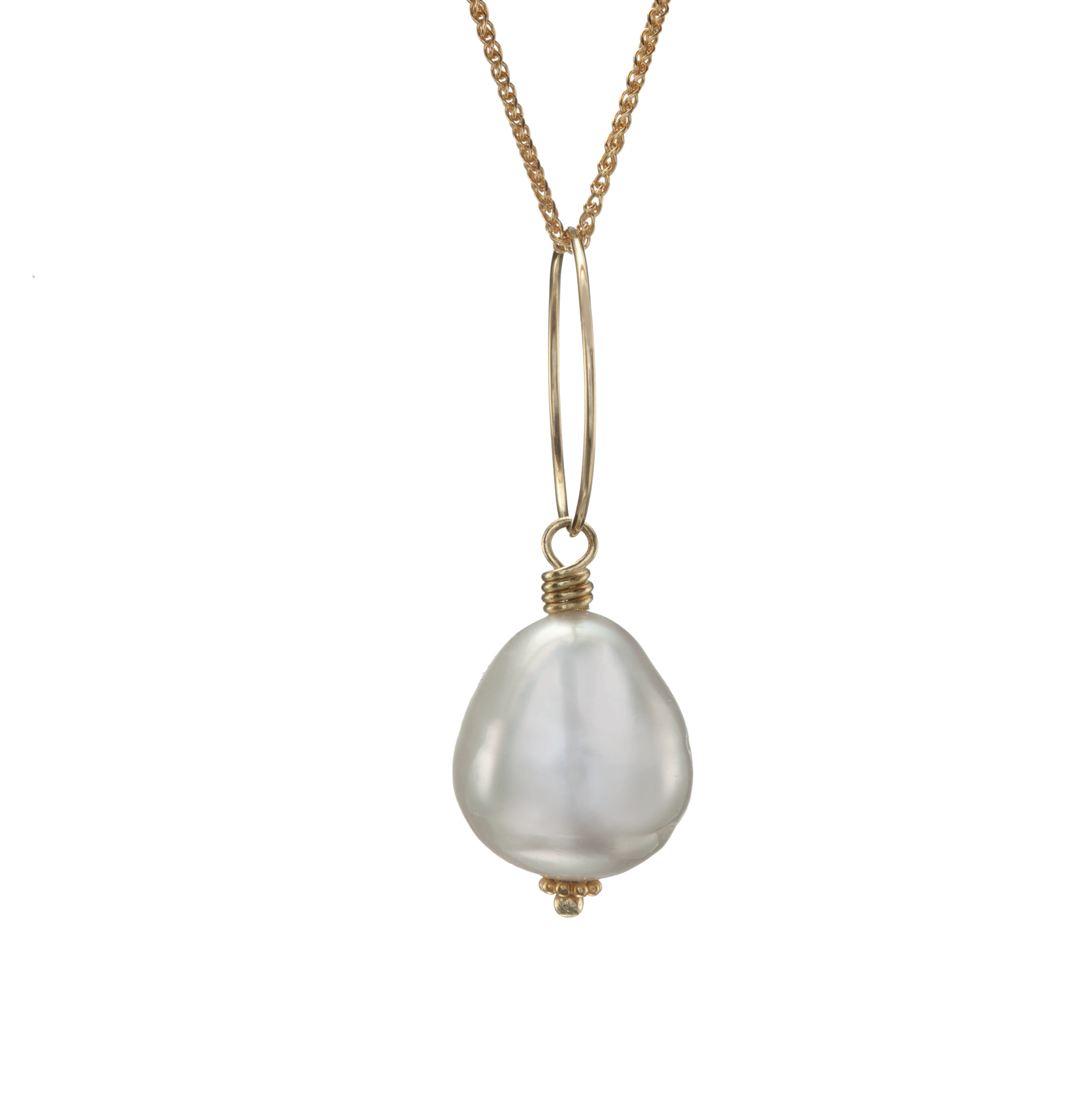 South Sea Pearl Necklace on 18K Chain copy May 2018 copy.png