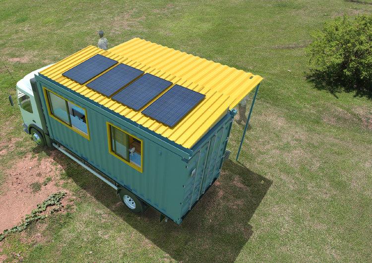 Mobile Medical Camp — Adengo Architecture