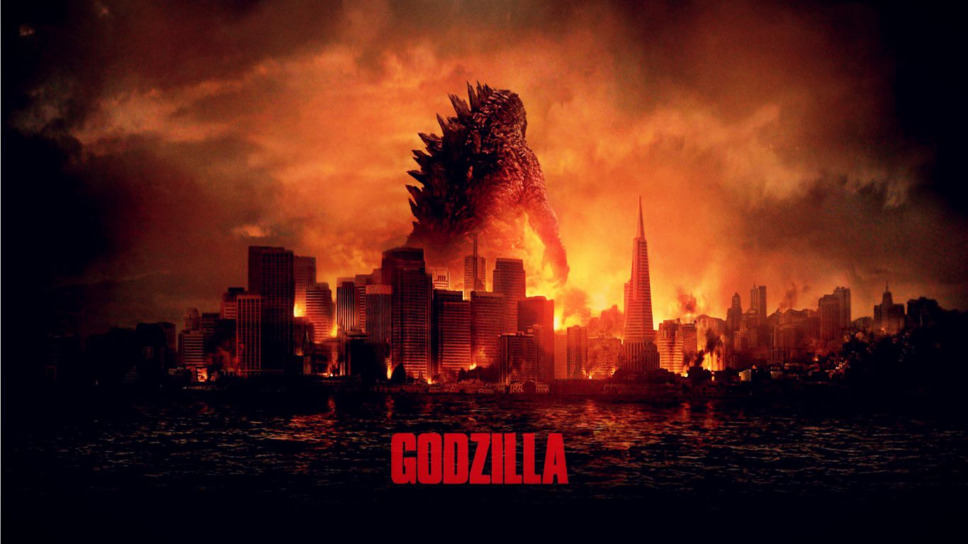 """The new """"Godzilla"""" is going to destroy the competition and New York City this weekend, and probably steal your girlfriends and eat your babies. He's that awesome."""