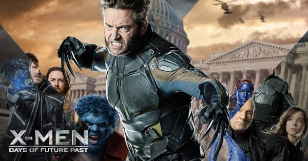 Wolverine is still angry that he has to wear that drab, colorless body suit instead of the awesome brown-shaded one he wore in the comics.
