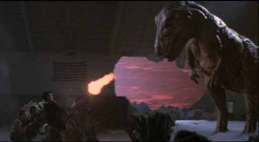 Dinosaurs and M-16s: Getting it right nearly thirty years ago.