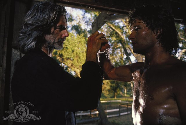 Sam Elliot can also catch a bullet with his anus.