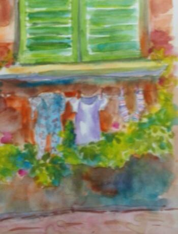 Gouache week painting # 2