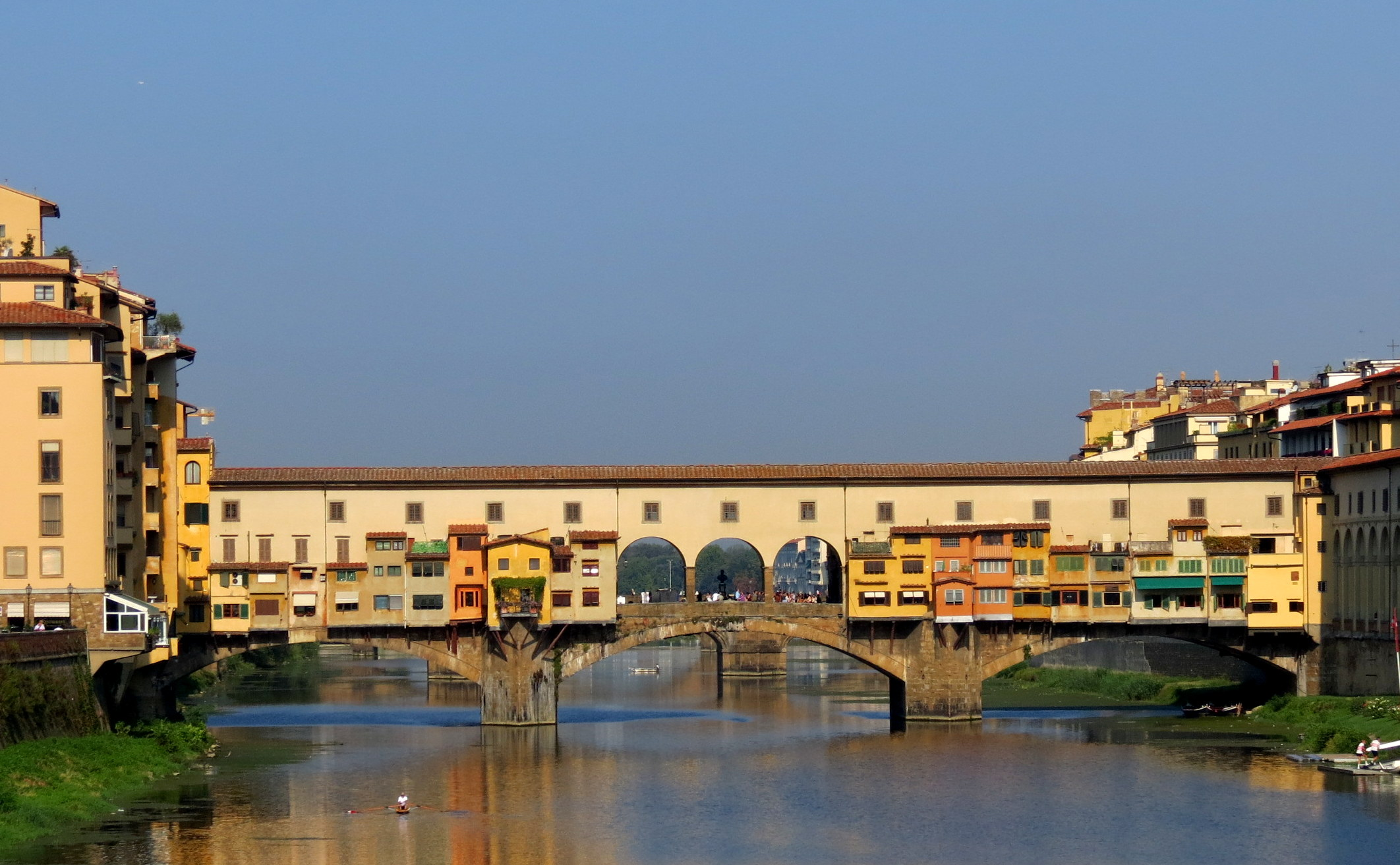 The very paintable Ponte Vecchio in Florence, where our workshop will begin.