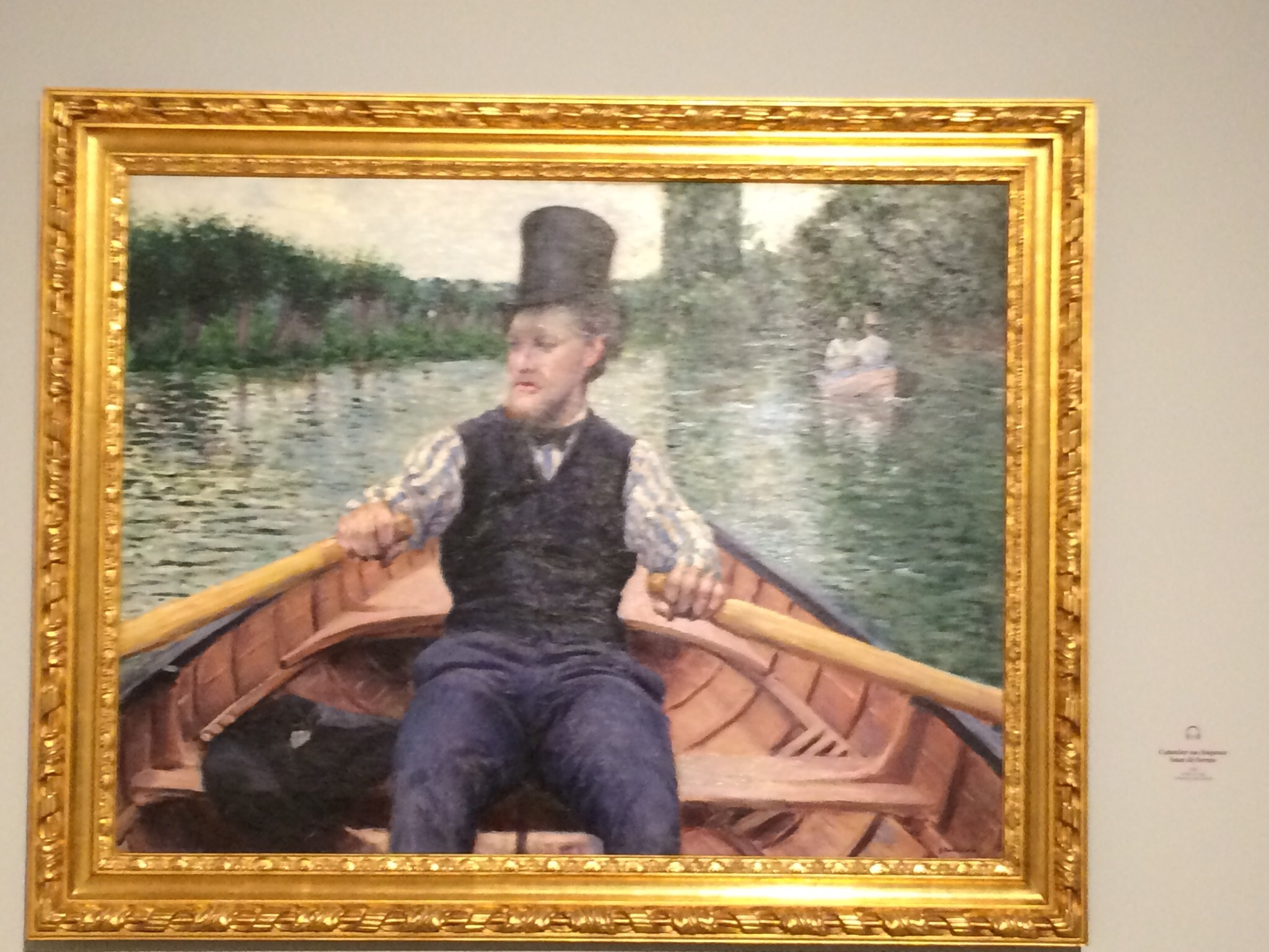 By Gustave Caillebotte