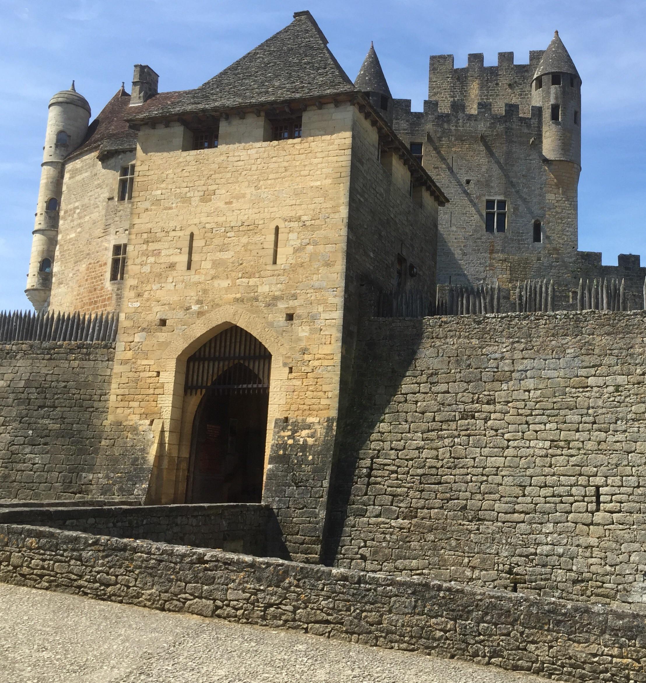 Entrance to Castle Beynac
