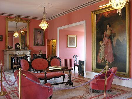Inside Dunvegen Castle