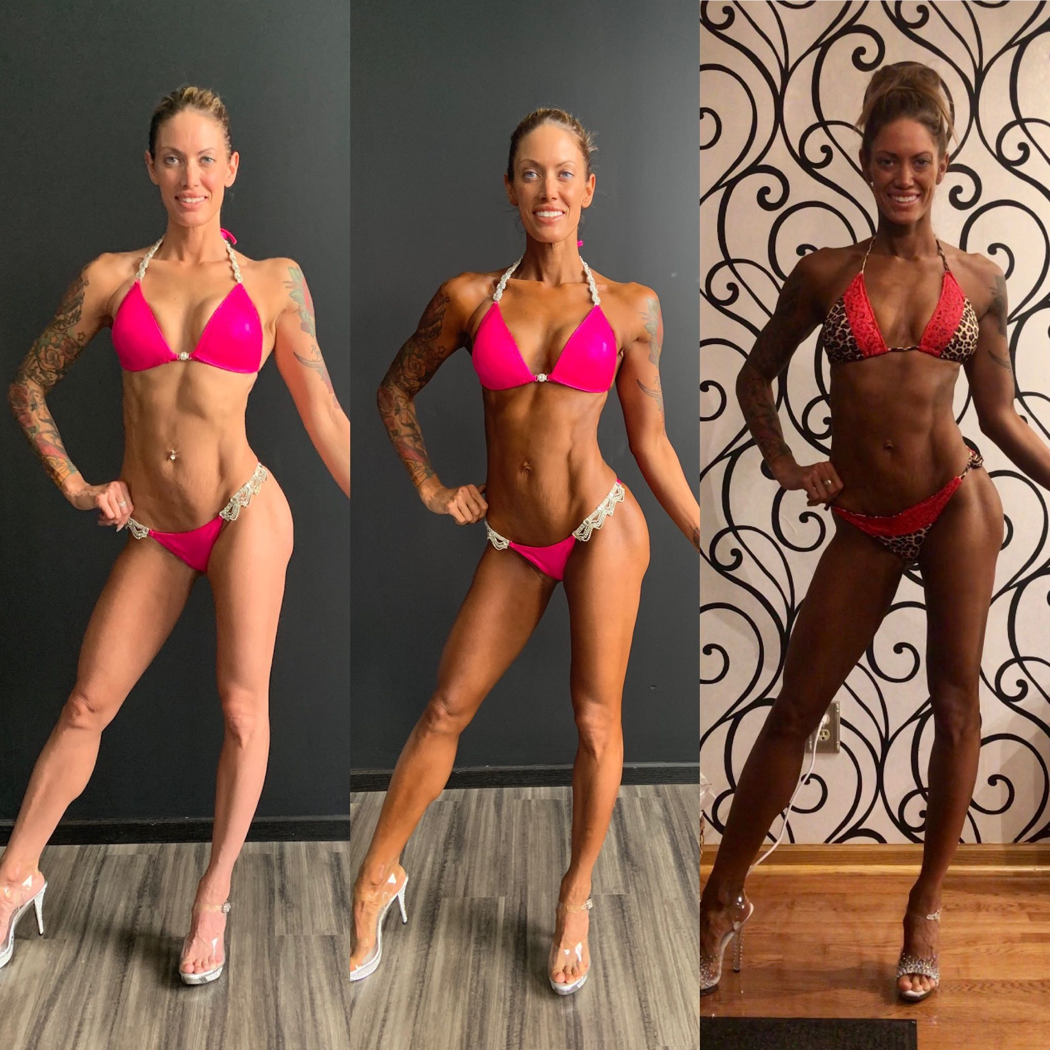 Fitness Competition color - Color is the key to confidence.