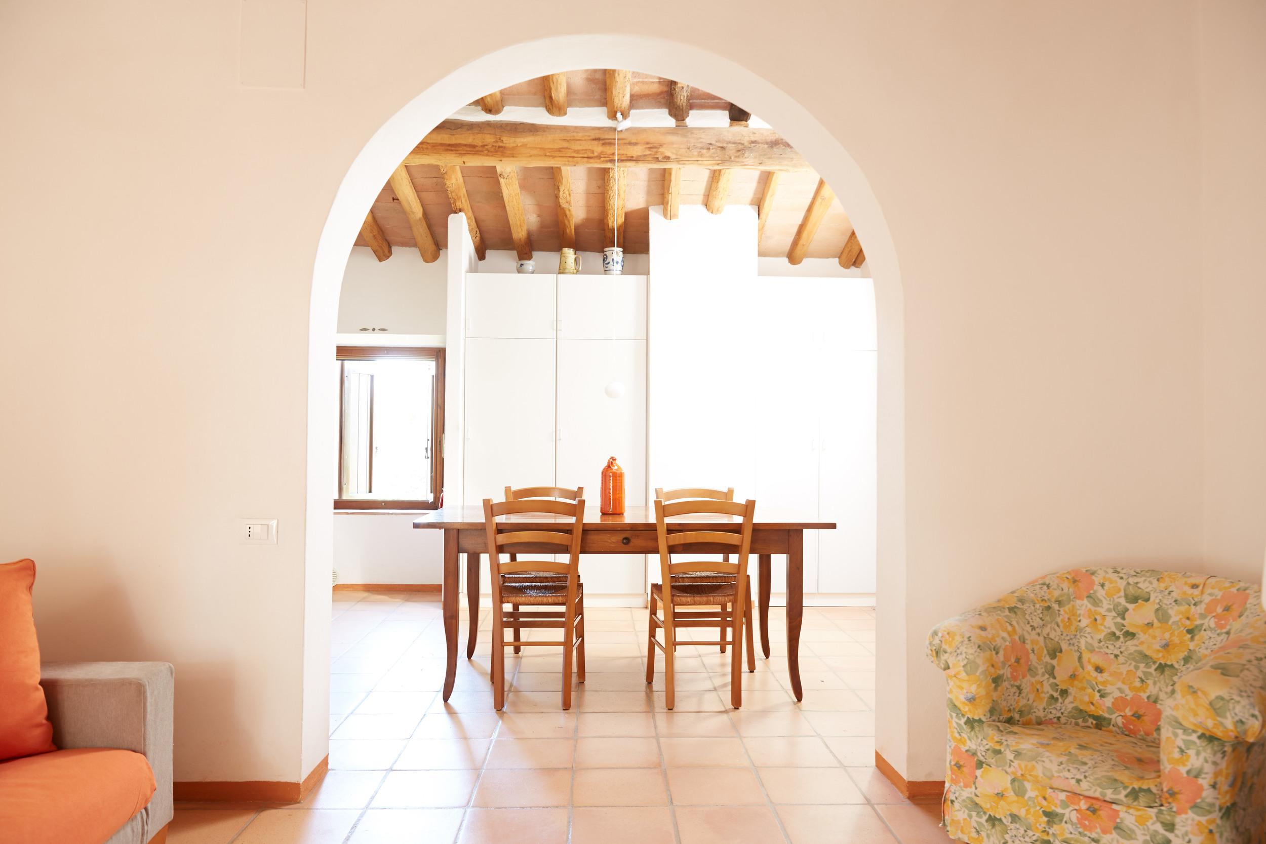 Das grosszügig-bequeme Mezzo ist eine ideale Familienwohnung für 4+ Personen. Ab 113 €/Tag (Off-Saison)