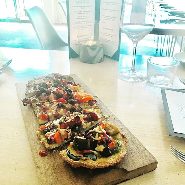 Root Vegetable Flatbread. 🍽1st or 2nd Course. 🍽Your choice. #dinner